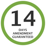 14-Days Amendment Guaranteed