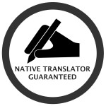 Native Translator Guaranteed