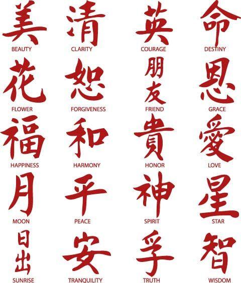 Ногти китайский иероглиф роспись